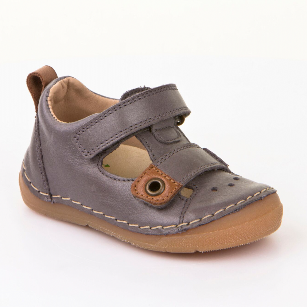 8b42450406c Froddo Childrens Shoes G2150074-6 Grey Sandals